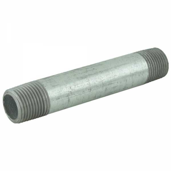 "1/2"" x 4-1/2"" Galvanized Steel Pipe Nipple"
