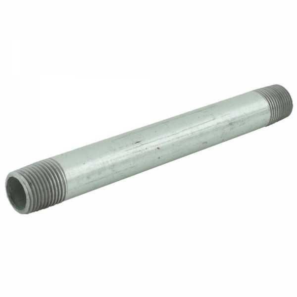 "1/2"" x 7"" Galvanized Steel Pipe Nipple"