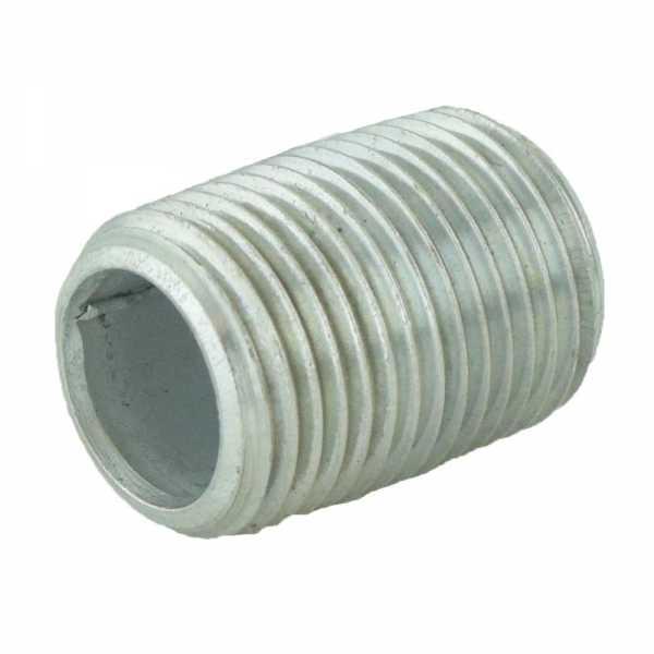 "1/2"" x Close Galvanized Steel Pipe Nipple"
