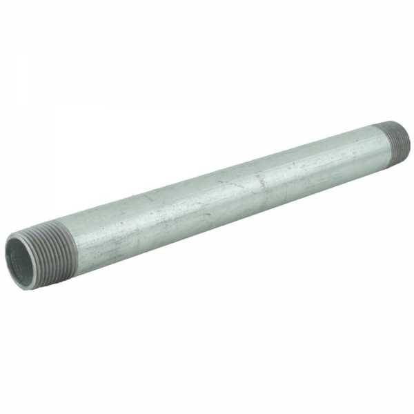 "3/4"" x 10"" Galvanized Steel Pipe Nipple"