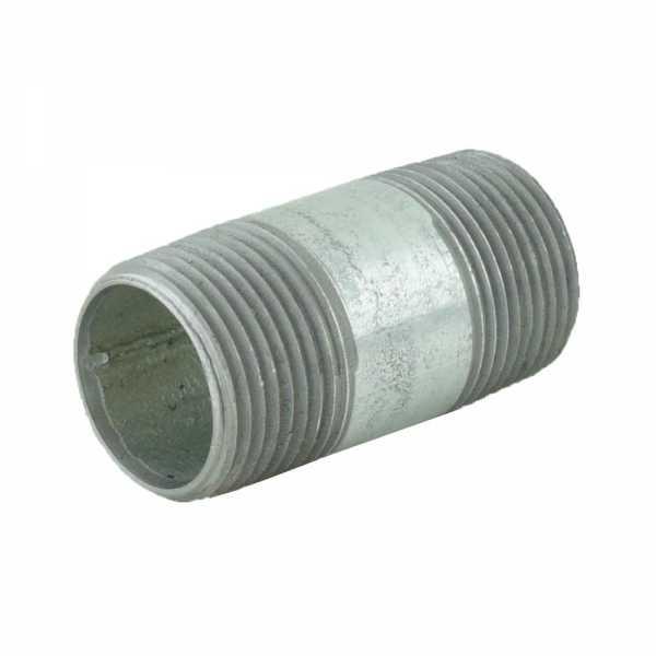 "3/4"" x 2"" Galvanized Steel Pipe Nipple"