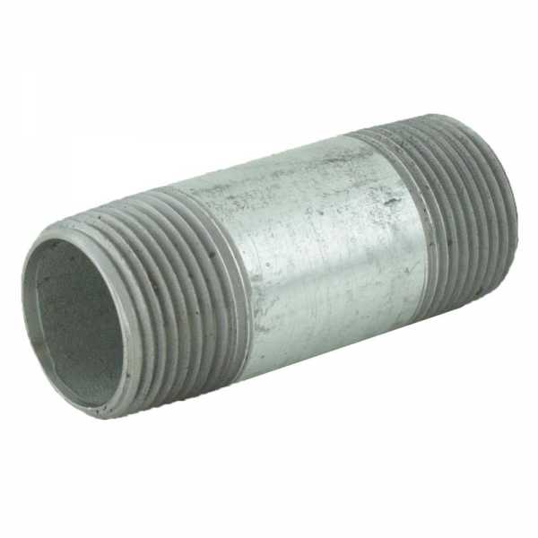 "3/4"" x 2-1/2"" Galvanized Steel Pipe Nipple"