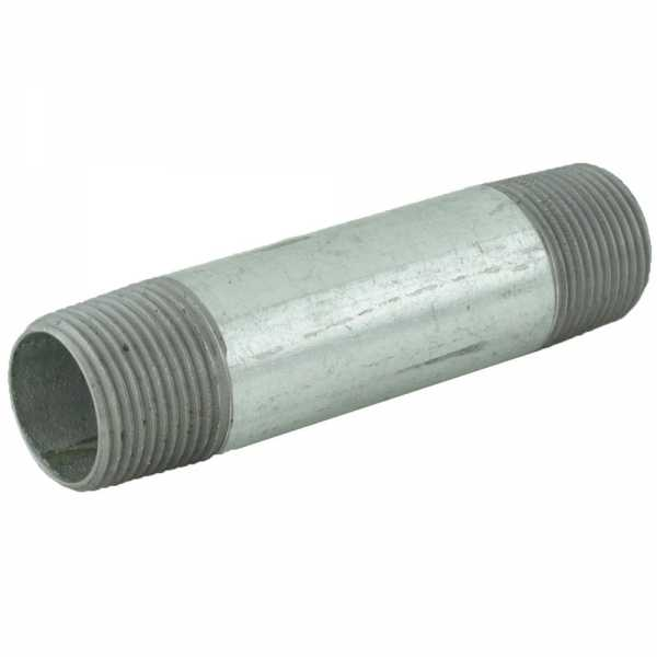 "3/4"" x 4"" Galvanized Steel Pipe Nipple"