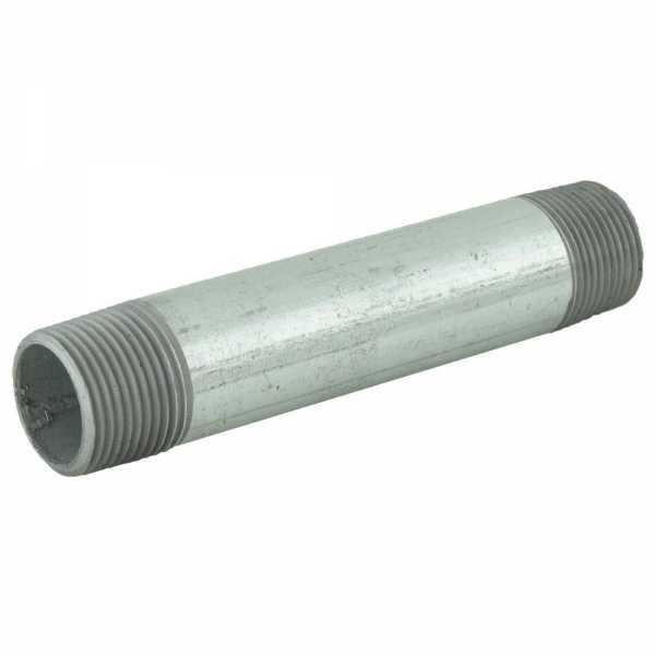 "3/4"" x 5"" Galvanized Steel Pipe Nipple"