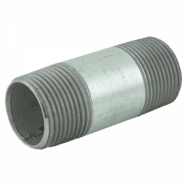 "1"" x 3"" Galvanized Steel Pipe Nipple"