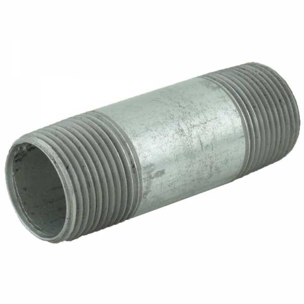 "1"" x 3-1/2"" Galvanized Steel Pipe Nipple"