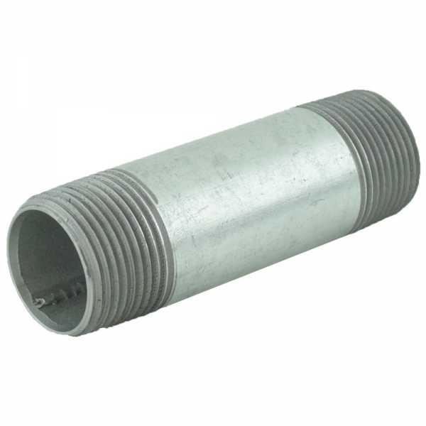 "1"" x 4"" Galvanized Steel Pipe Nipple"