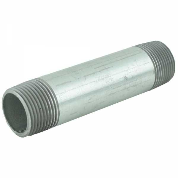 "1"" x 5"" Galvanized Steel Pipe Nipple"