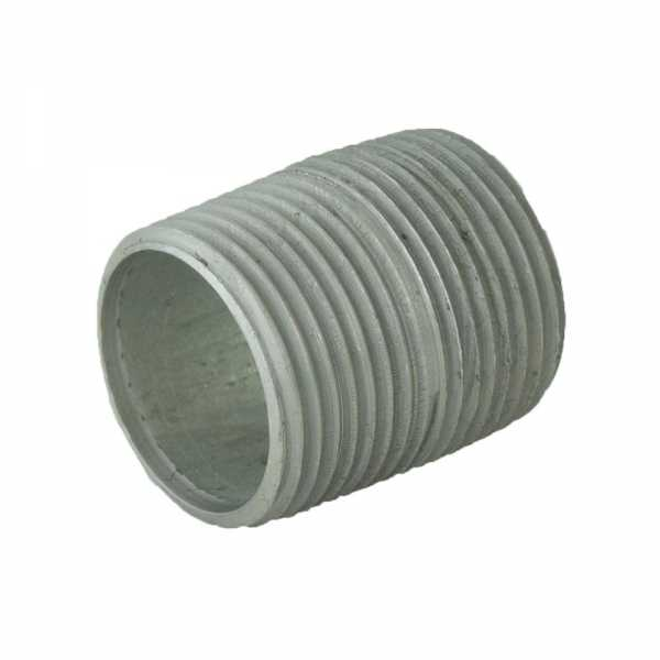 "1"" x Close Galvanized Steel Pipe Nipple"