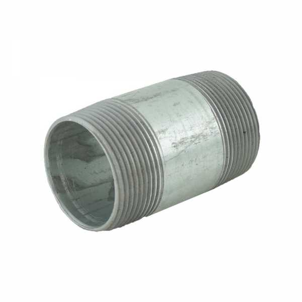 "1-1/2"" x 3"" Galvanized Steel Pipe Nipple"