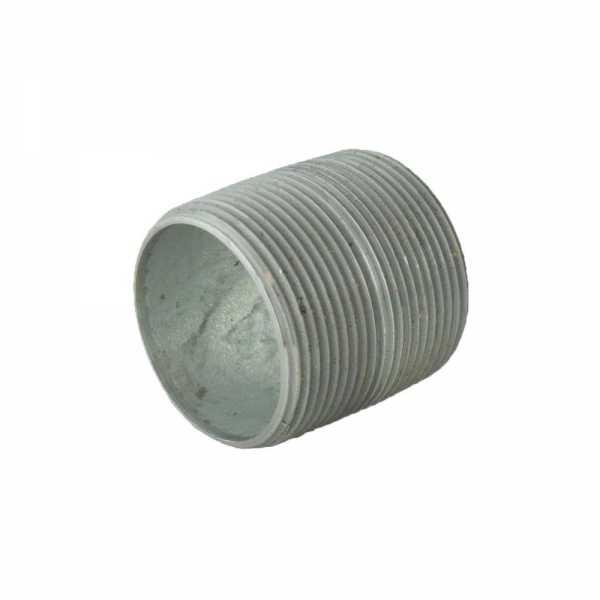 "1-1/2"" x Close Galvanized Steel Pipe Nipple"