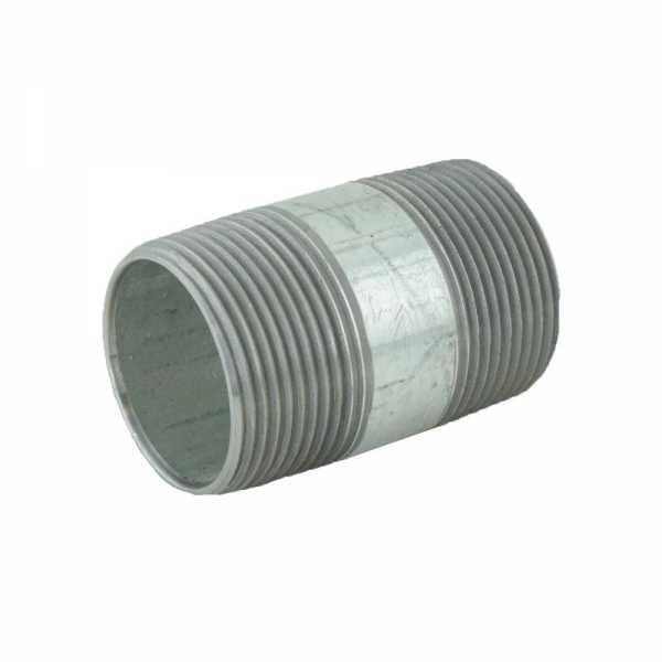 "1-1/4"" x 2-1/2"" Galvanized Steel Pipe Nipple"