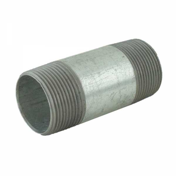 "1-1/4"" x 3-1/2"" Galvanized Steel Pipe Nipple"