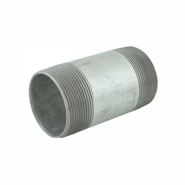 "2"" x 4"" Galvanized Steel Pipe Nipple"