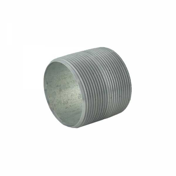 "2"" x Close Galvanized Steel Pipe Nipple"