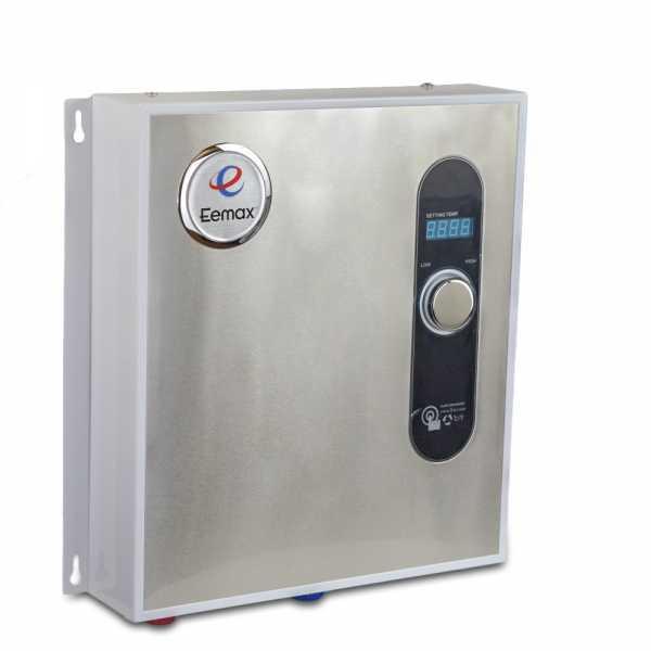 EeMax HA027240, HomeAdvantage II Electric Tankless Water Heater, 27.0 kW, 240V/208V