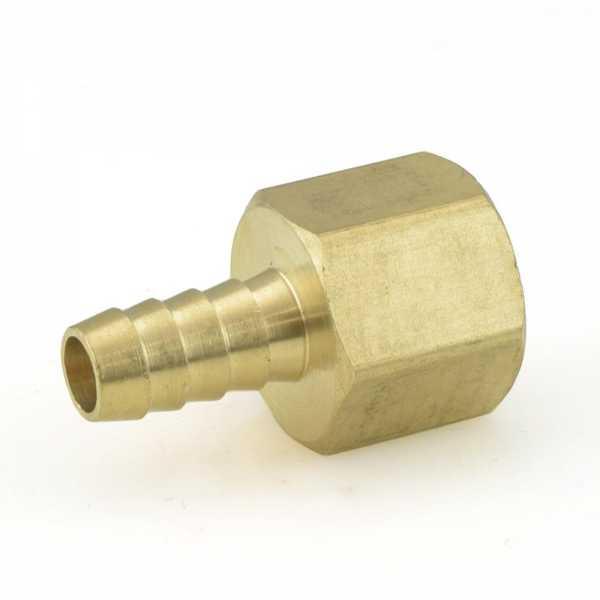 """3/8"""" Hose Barb x 1/2"""" FIP Brass Adapter"""