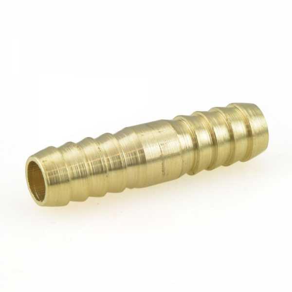 """3/8"""" Hose Barb Brass Splicer"""