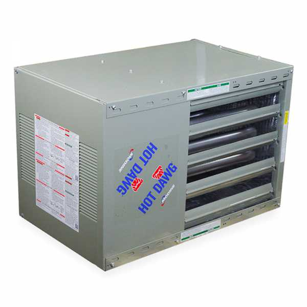 HD75 Hot Dawg Natural Gas Unit Heater - 75,000 BTU