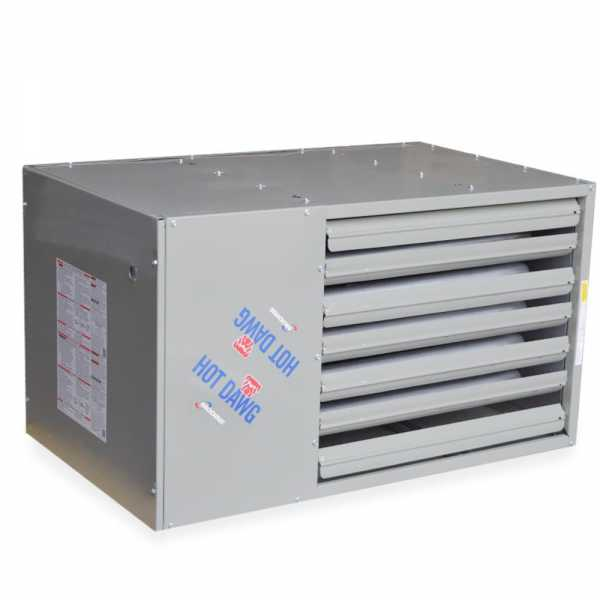 HDS100 Hot Dawg Separated Combustion Unit Heater, NG - 100,000 BTU