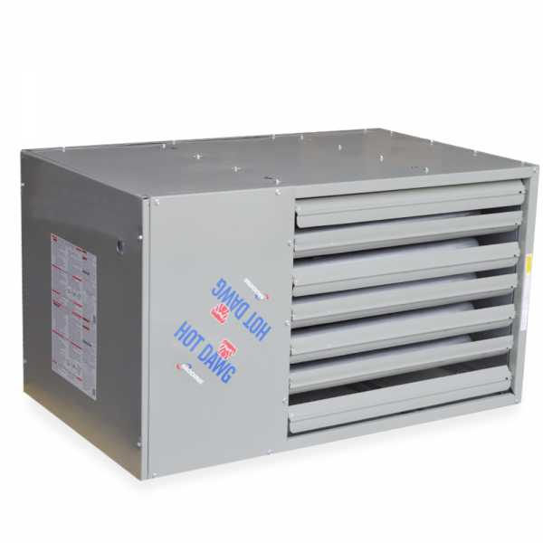 HDS125 Hot Dawg Separated Combustion Unit Heater, NG - 125,000 BTU