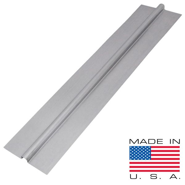 "2ft x 5"" 1/2"" PEX Aluminum Heat Transfer Plates (200/box), Omega-Shaped"