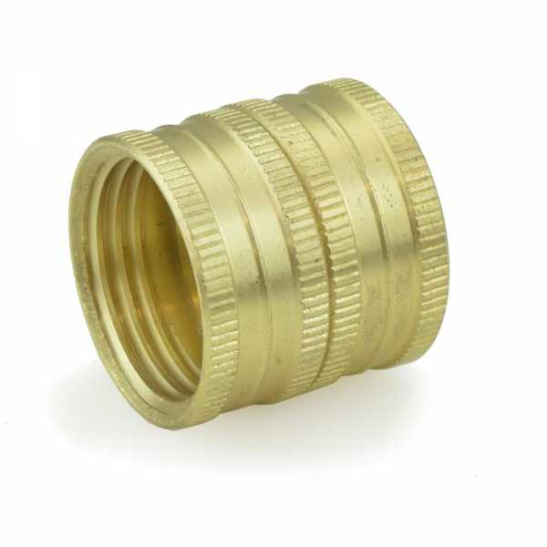 "3/4"" FGH x 3/4"" FGH Swivel Brass Coupling (Union), Lead-Free"