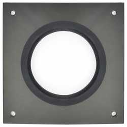 "Round Wall Plate for 4"" Innoflue SW"
