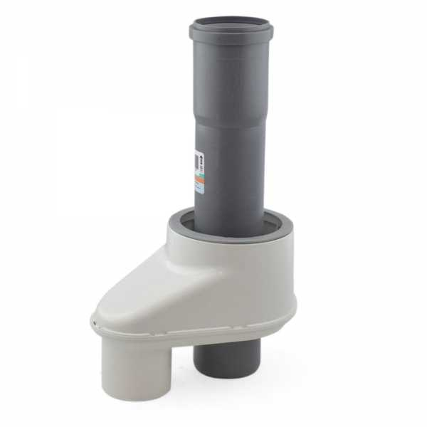 """3"""" Twin Pipe to 3""""/5"""" Innoflue Concentric Adapter"""