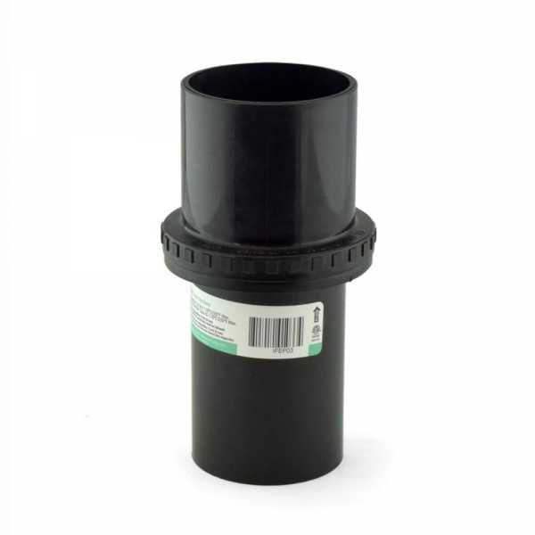 """3"""" Innoflue Flex Chimney End Pipe Adapter, UV Black"""