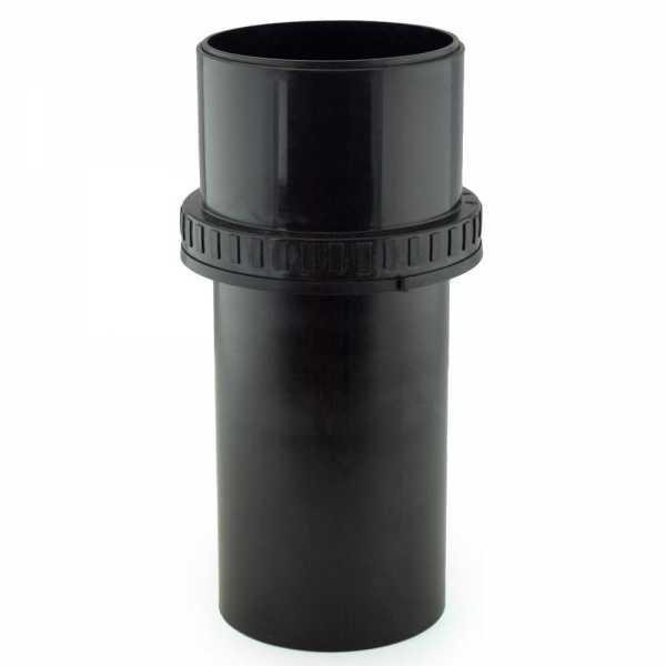 """4"""" Innoflue Flex Chimney End Pipe Adapter, UV Black"""