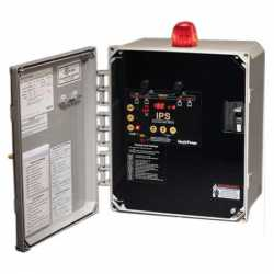 IPS Simplex Control Panel, 208/240/480V, 3-Phase, NEMA 4X, 4.0-6.3A