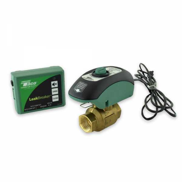 "3/4"" NPT LeakBreaker Water Heater Shut-Off (Flood Stop) Valve w/ Control & Sensor"