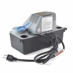 Automatic Condensate Pump w/ Safety Switch, Tubing and 6' cord, 1/50 HP, 115V