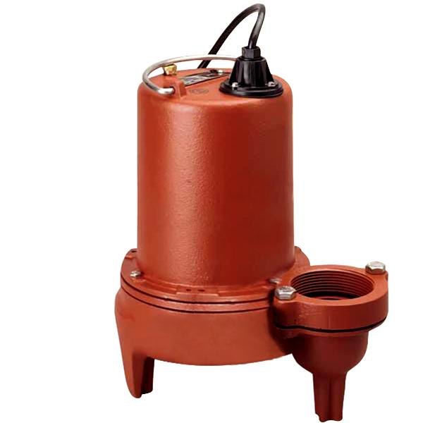 Manual Sewage Pump, 1HP, 25' cord, 440/480V, 3-Phase