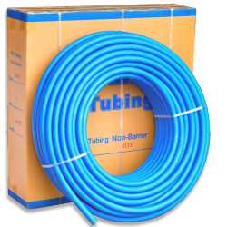 """1"""" x 300 ft. PEX Plumbing Pipe, Non-Barrier (Blue)"""