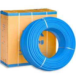 "1/2"" x 1000 ft. PEX Plumbing Pipe, Non-Barrier (Blue)"