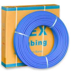 "1/2"" x 300 ft. PEX Plumbing Pipe, Non-Barrier (Blue)"