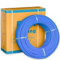"""1/2"""" x 500 ft. PEX Plumbing Pipe, Non-Barrier (Blue)"""