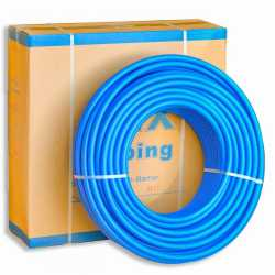 """3/4"""" x 300 ft. PEX Plumbing Pipe, Non-Barrier (Blue)"""