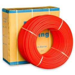 "1/2"" x 1000 ft. PEX Plumbing Pipe, Non-Barrier (Red)"