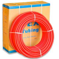 """3/4"""" x 300 ft. PEX Plumbing Pipe, Non-Barrier (Red)"""