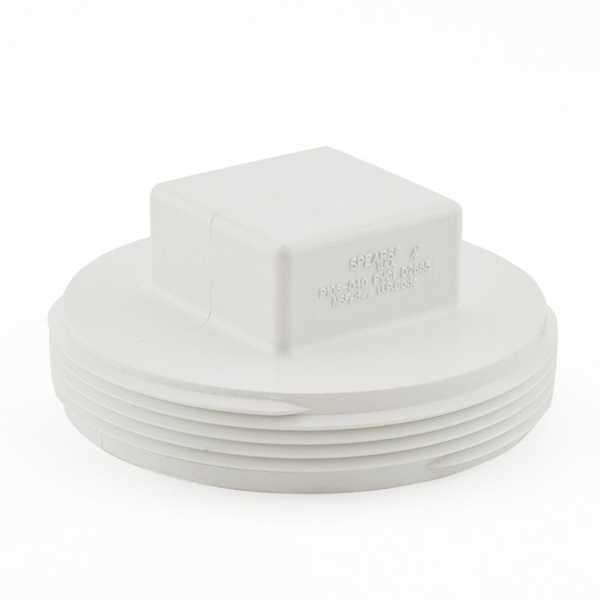 """4"""" PVC DWV Cleanout Plug"""