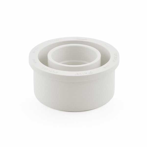 """3"""" x 1-1/2"""" PVC DWV Bushing (Spigot x Socket)"""