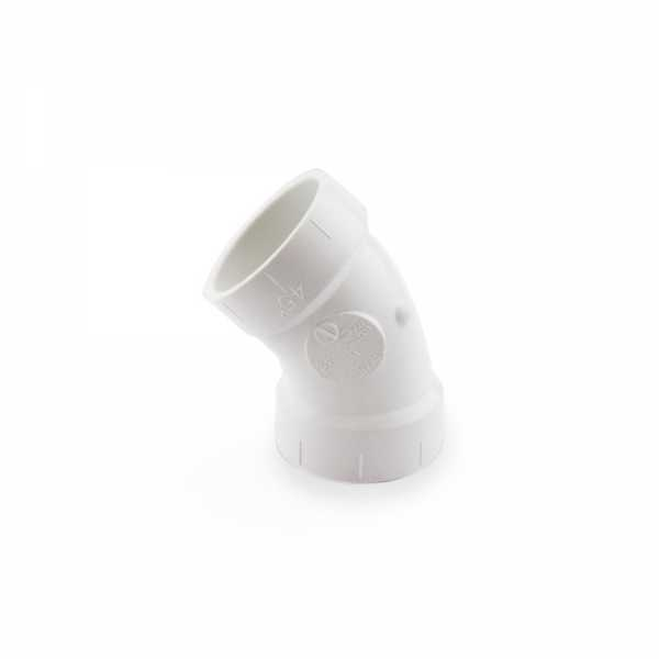 """1-1/2"""" PVC DWV 45° Elbow"""