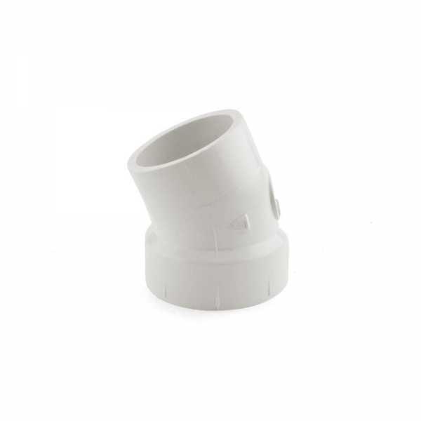 """1-1/2"""" PVC DWV 22.5° Street Elbow"""