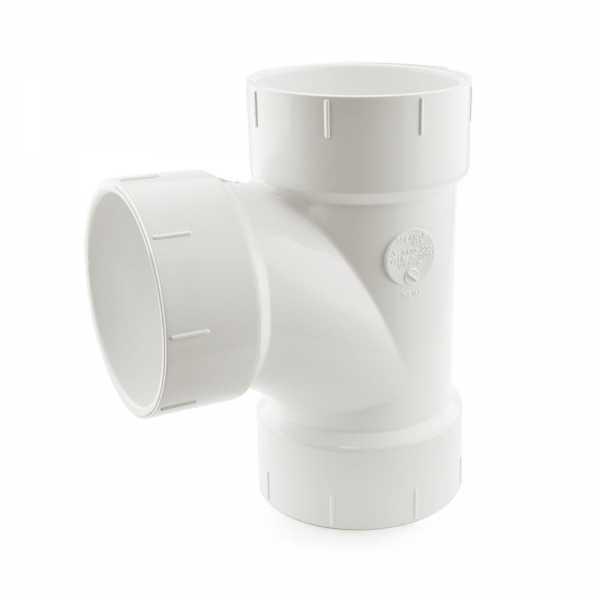"3"" PVC DWV Sanitary Tee"