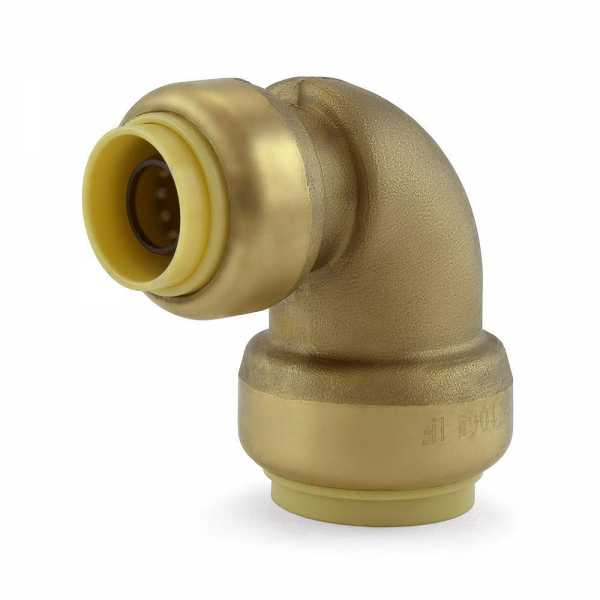 "3/4"" x 1/2"" Push To Connect Reducing Elbow, Lead-Free"