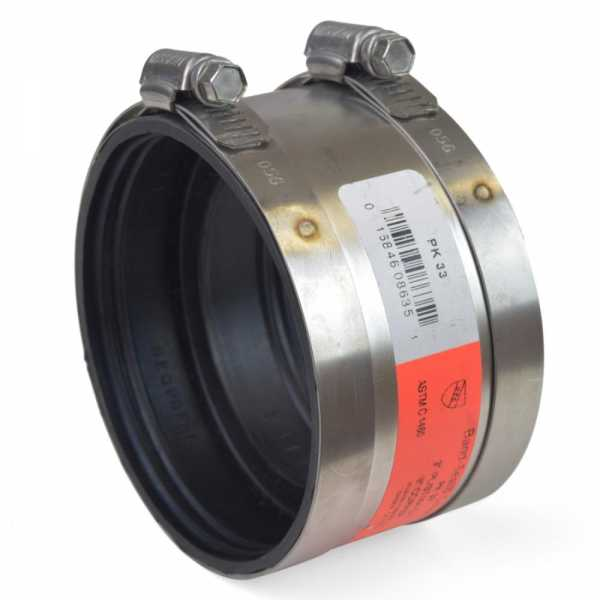 """3"""" Extra-Heavy CI/Plastic/Steel to 3"""" Copper Coupling"""