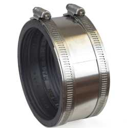 """4"""" Extra-Heavy CI/Plastic/Steel to 4"""" Copper Coupling"""